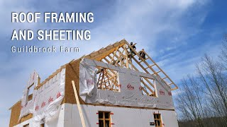 ICF Mountain Homestead: Roof Framing and Sheathing