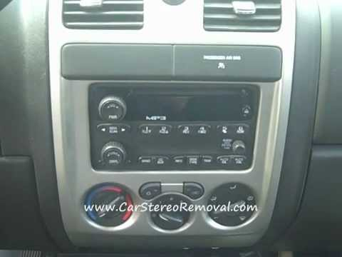 hqdefault how to gmc canyon bose car stereo removal cd tape repair light out 2005 gmc canyon radio wiring diagram at fashall.co