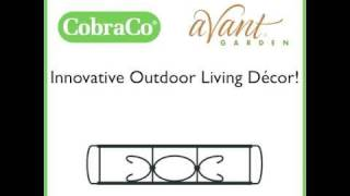 Cobraco® Expandable - Adjustable Flower Box Holder | Avantgardendecor.com