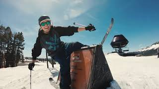 LINE Skis Team at Woodward Tahoe 2019