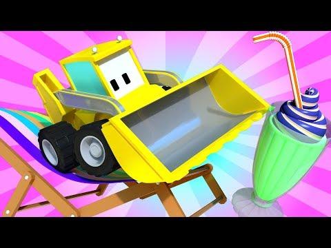 Лето - Расслабься! - малыши грузовички ???? Обучающий мультфильм для детей