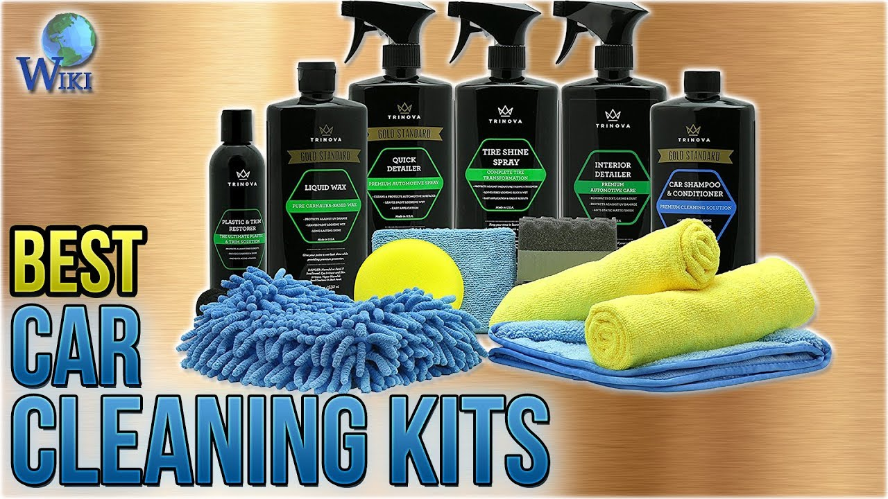 10 Best Car Cleaning Kits 2018