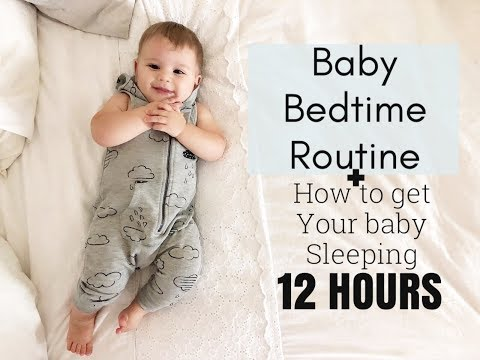 HOW TO GET YOUR BABY SLEEPING 12 HOURS AT NIGHT | REALLY WORKS!!