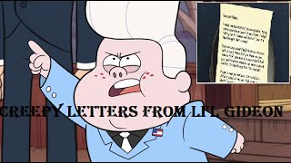 Gravity Falls: All Creepy Letters From Lil Gideon