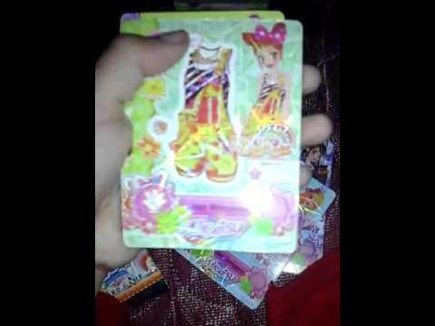 Trading card game aikatsu