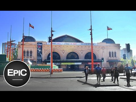 Mercado Central y Estación Mapocho - Santiago de Chile (HD)