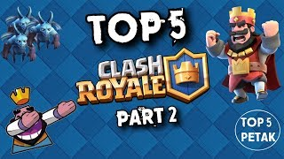 TOP 5 STVARI KOJE NISTE ZNALI O CLASH ROYALE! Part 2 - Top 5 Petak