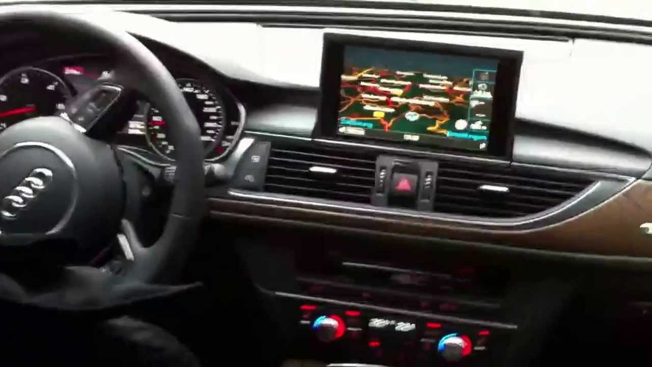 Audi a6 allroad 3 0 tdi biturbo interieur sound youtube for Interieur audi a6