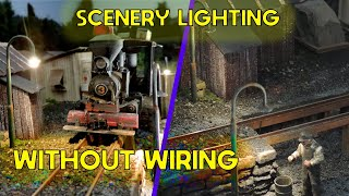 Lighting up your layout without Wiring : Dwarvin Enterprises
