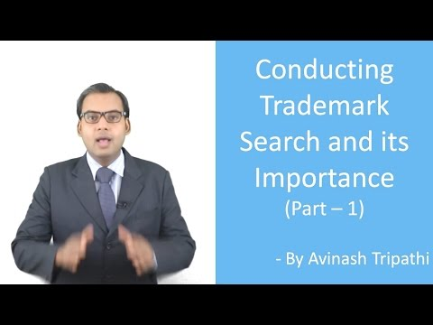 Lecture on Conducting Trademark Search (Part 1)