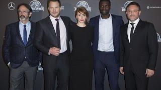 Jurassic World Premiere - Chris Pratt, Bryce Dallas Howard, Omar Sy, Colin Trevorrow