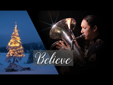 Believe from Polar Express - Tuba/Euphonium Ensemble