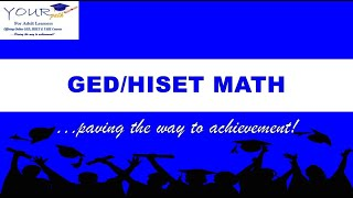 GED/HiSET Math. Finding the Mean  Average Test Score