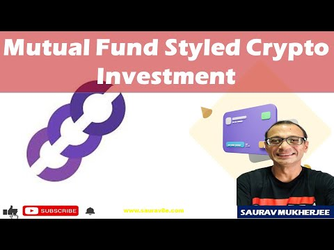 Mutual Fund Styled Crypto Investment