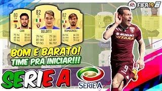FIFA 19 MELHOR TIME PRA COMEÇAR SERIE A !!! TIME BOM E BARATO LIGA ITALIANA ULTIMATE TEAM