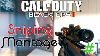 Black Ops 2 Sniping Montage #1 || DeltraX