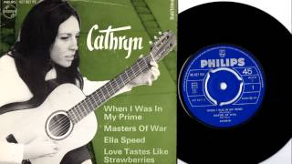 Cathryn Diane - January 1966 - Danish folk EP - Joan Baez style and Dylan cover