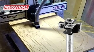 Resurfacing Using Amana Tool 2+2 Mini Spoilboard Cnc Flycutter Router Bit