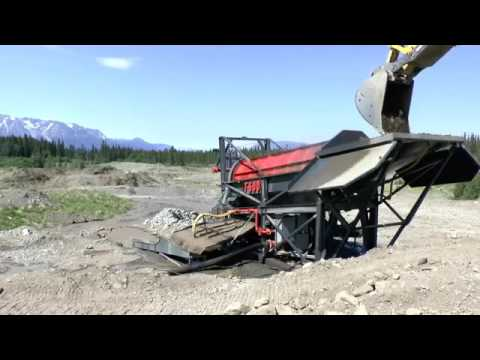 Macon Industries T-600 Trommel, Atlin B.C.