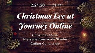 Christmas Eve 2020 at Journey Online