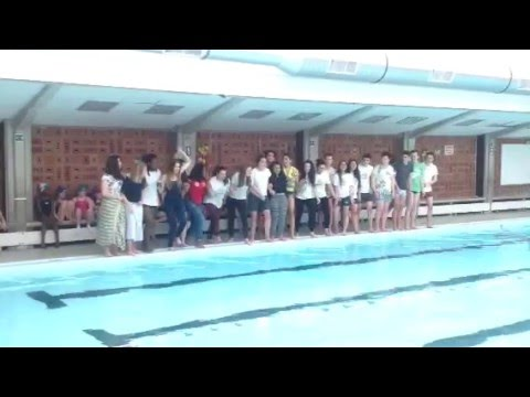 D fi solidaire de la 5ga du coll ge saint pierre de jette for College jean de la mennais piscine