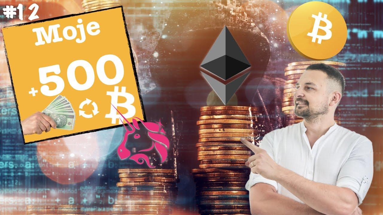 Bitcoin, Ethereum, Uniswap – najlepszy wybór w 2021 na long? Dlaczego te crypto?🤔 Moje500Plus #12