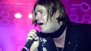 """Hinder Acoustic Guitar """"Get Me Away From You"""" Steamboat Days Burlington, Iowa 6-13-2013"""