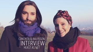 Conchita & Ina Regen – Interview zu HEAST AS NET