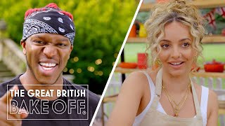 KSI and Little Mix's Jade Thirlwall rock Bake Off! | The Great Stand Up To Cancer Bake Off