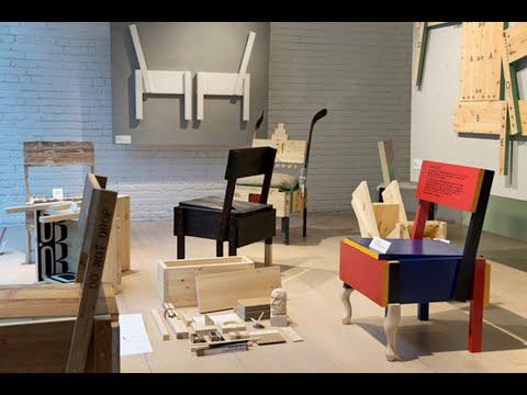 building instructions for sedia 1 chair by enzo mari hd youtube. Black Bedroom Furniture Sets. Home Design Ideas