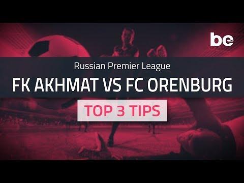 Russian Premier League | FK Akhmat vs FC Orenburg top betting tips
