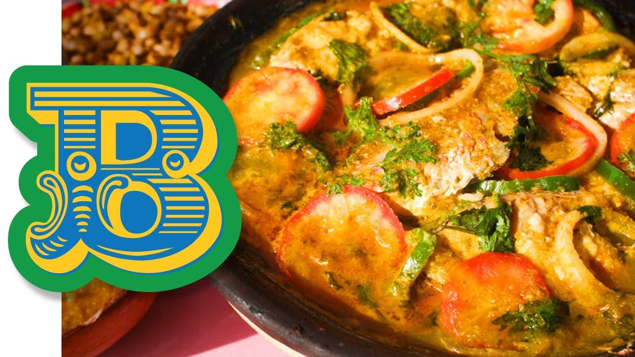 Moqueca - Delicious Brazilian Fish Stew Recipe - YouTube