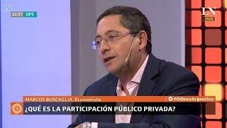 """M.Buscaglia sobre """"¿Qué es la PPP?"""", en """"Odisea Argentina"""" de C.Pagni - 23/04/18"""