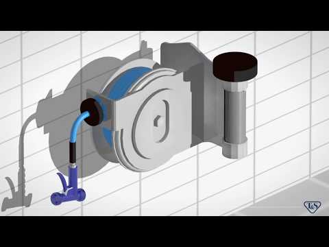 Compact T&S Hose Reels Serve Specialty Needs