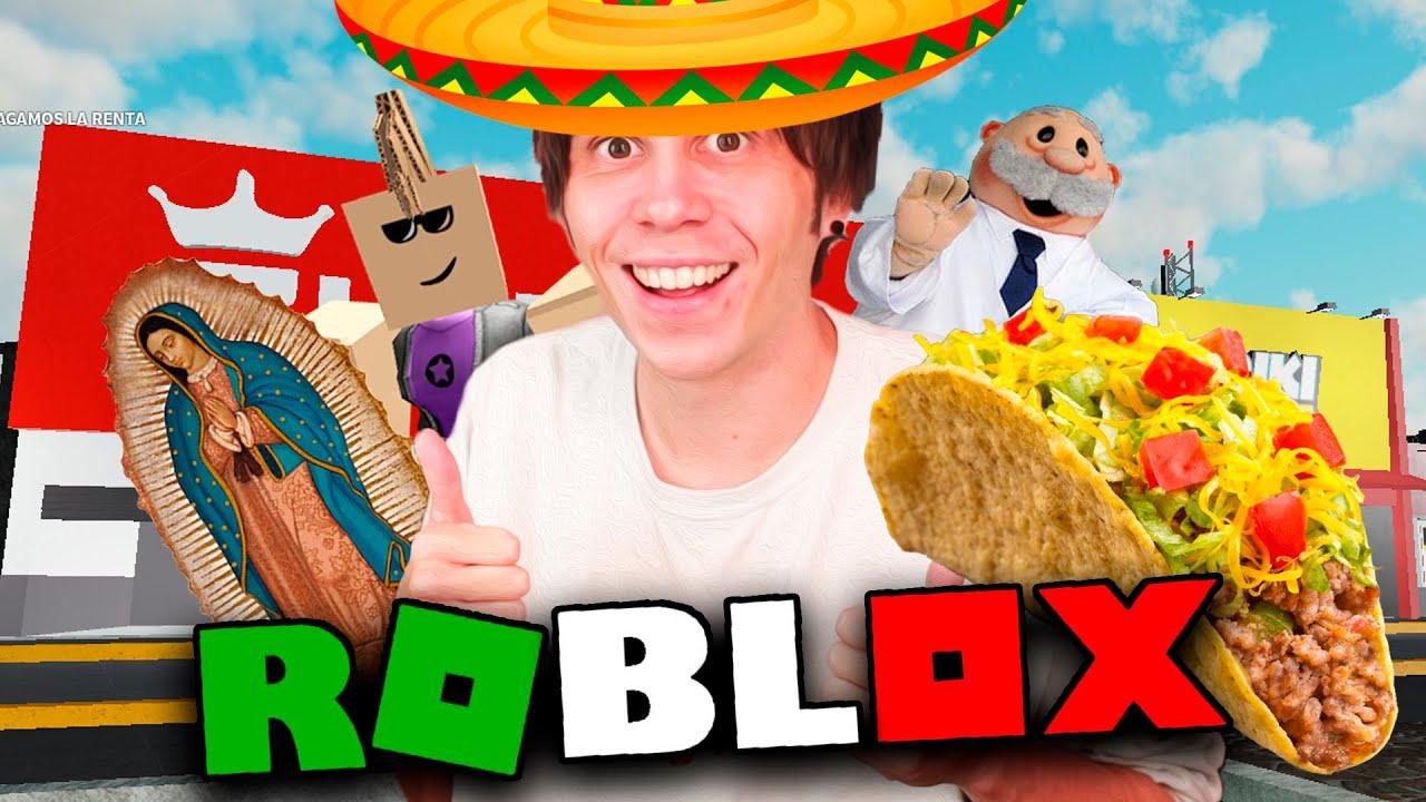 NORUEGO VISITA MEXICO EN ROBLOX *SALE MAL* ft. Quackity