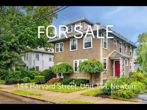 Tour of 144 Harvard Street, Unit 144, Newtonville, MA - Presented by Dwell360 Real Estate