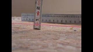 видео Максимальная и минимальная толщина стяжки пола