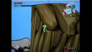 風のタクト デクの葉で竜の島のてっぺんにいってみよう!