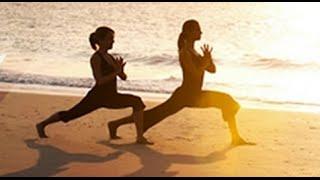 Аштанга-виньяса-йога. Урок для начинающих с Михаилом Константиновым.