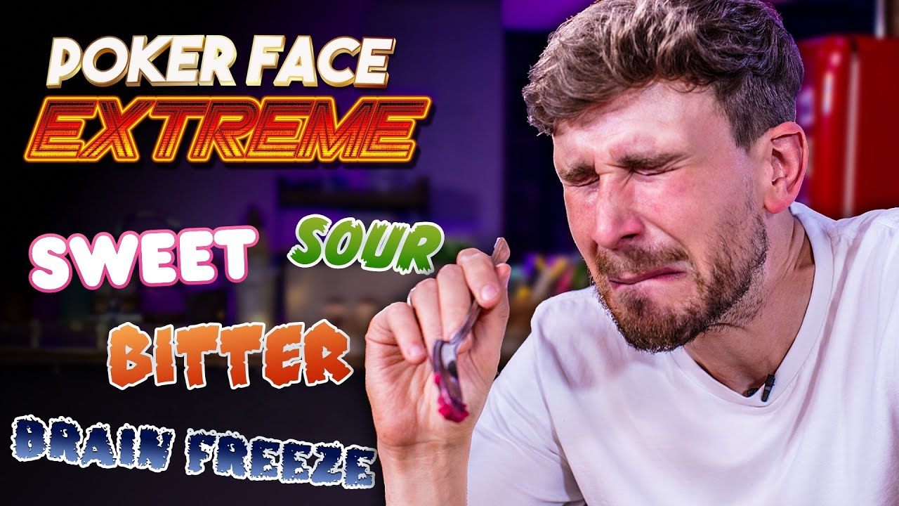"""POKER FACE """"Extreme Flavours"""" FOOD CHALLENGE 