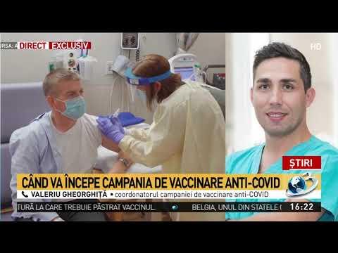 Când Va începe Campania De Vaccinare Anti-COVID. Declarația șefului Campaniei De Vaccinare