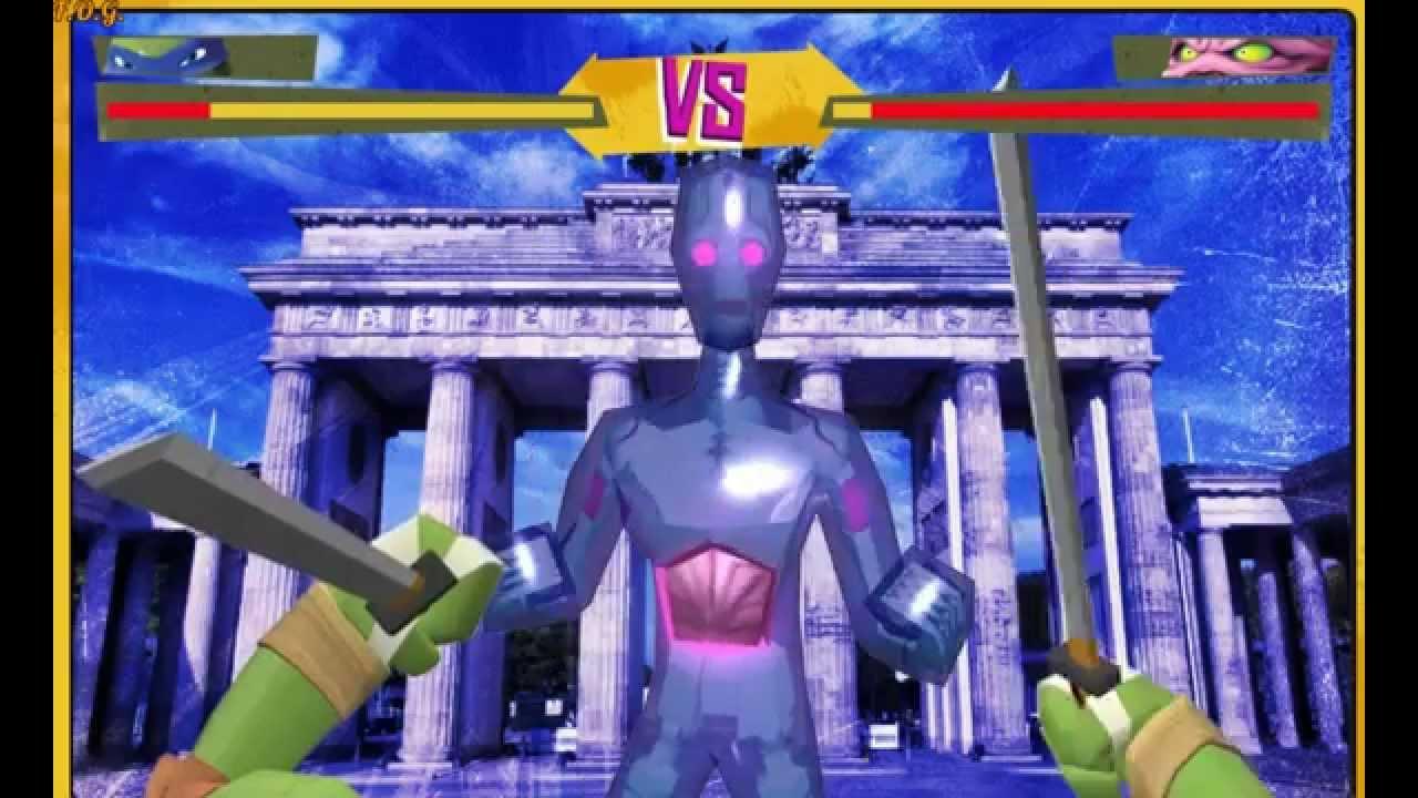 Игра черепашки ниндзя кренг видео игр том и джерри