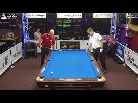 Stuttgart Open 2017, No. 27, Roman Hybler vs. Kevin Schiller, 10-Ball, Pool-Billard