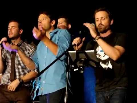 Rob Benedict and friends singing The Weight at Cabaret VanCon 2014