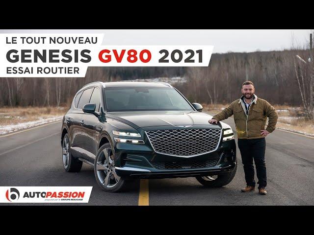 Genesis GV80 2021 - Au Sommet Des VUS De Luxe?