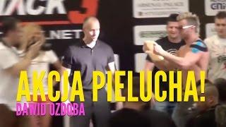 Robert Burneika vs Dawid Ozdoba-akcja pielucha na ważeniu 2017 Video