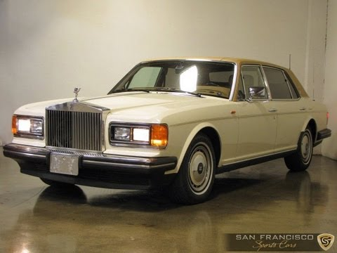 1993 Rolls-Royce Silver Spur II for Sale - YouTube