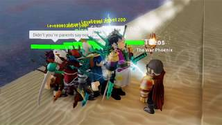 2nd magic with the squad | Roblox Arcane Legacy