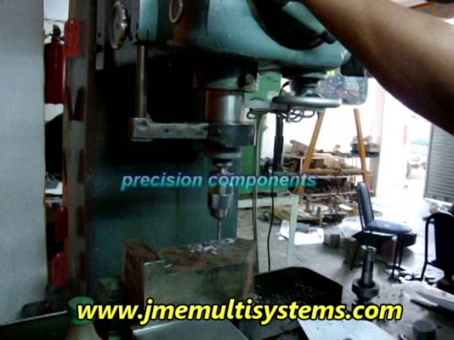 Manufacturing and assembling of jigs and fixture at jme multi systems