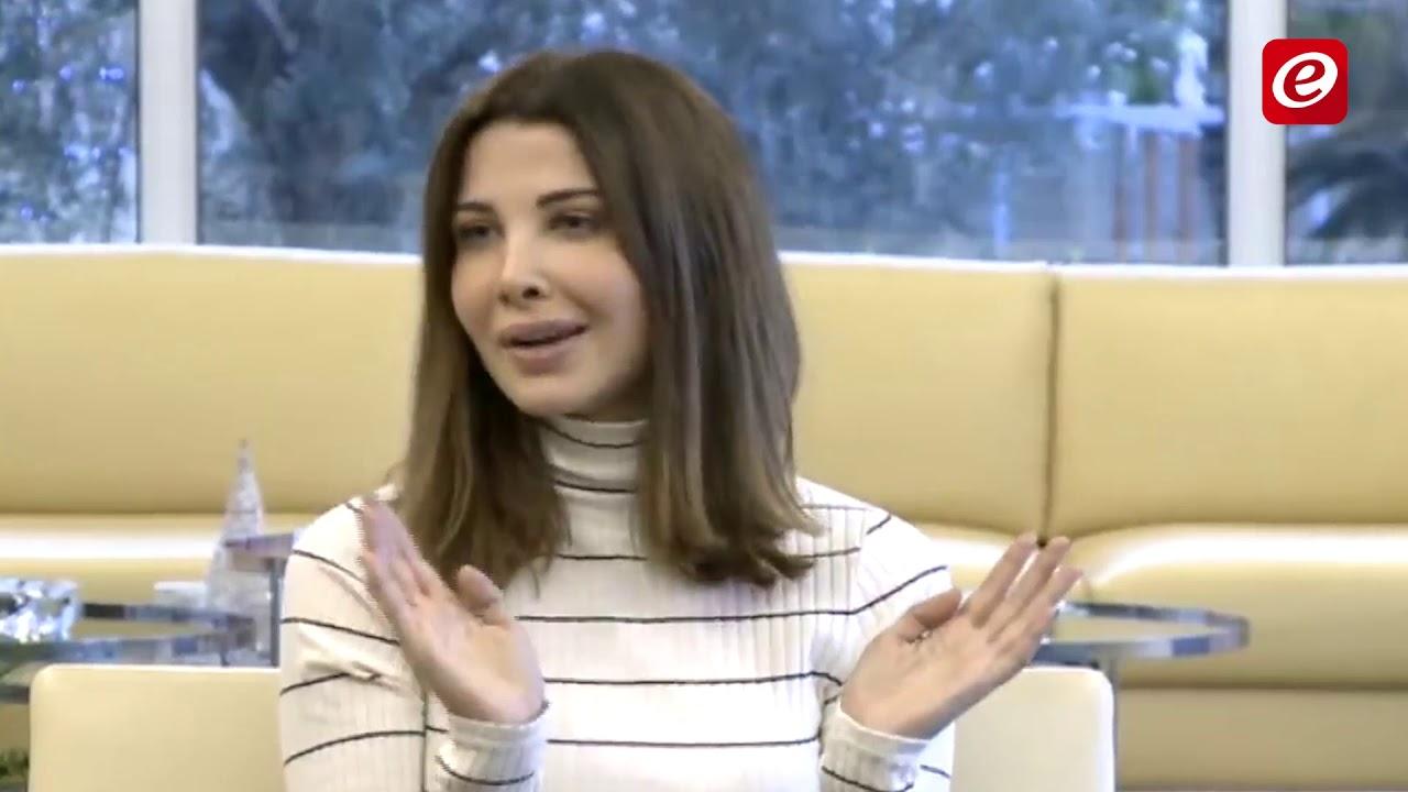 مؤتمر صحفي للفنانة نانسي عجرم بعد تعرضها وعائلتها لعملية سرقة